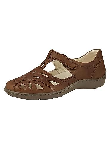 Waldläufer Damen Klettslipper: : Schuhe & Handtaschen