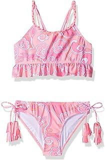 2b74a18b8 Amazon.com: Kate Mack Girls' Bikini Garden Roses, Sizes 4-10 - 4 ...
