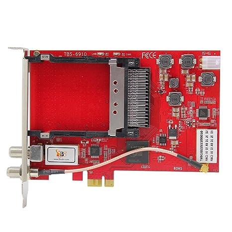 Amazon in: Buy TBS 6910 DVB-S2 Dual Tuner Dual CI PCI
