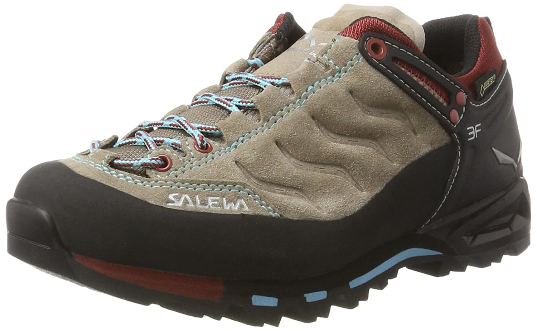 Salewa Damen Ws MTN Trainer 43 GTX Trekking-& Wanderhalbschuhe, blau, 43 Trainer EU Braun (Funghi/Indio ) 13214e