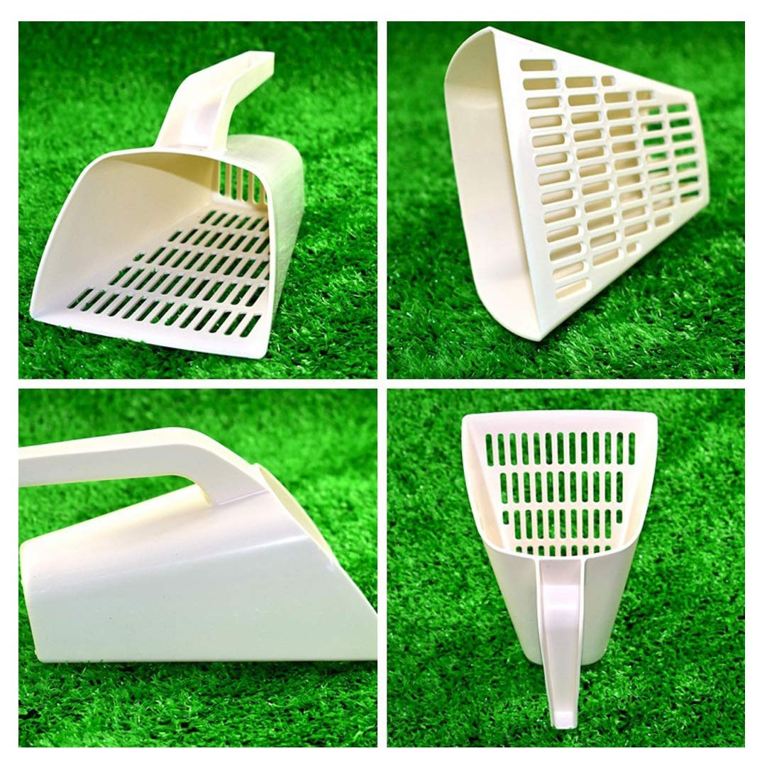 MALLOOM Cats Pet Poo Shovel Scooper Practical Pets Poop Cat Sand Kitty Litter Sifter Scoop Cleaning Tools