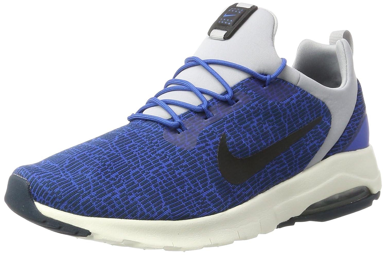 Nike Air MAX Motion Racer, Zapatillas para Hombre 44 EU|Azul (Blue Jay/Black-armory Navy-wolf Grey-sail)