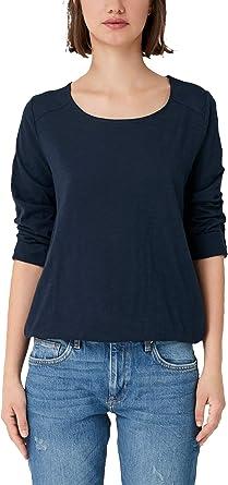 Q/S designed by Camisa Manga Larga para Mujer: Amazon.es: Ropa y accesorios
