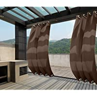 Clothink - Cortinas para exteriores con ojales superiores