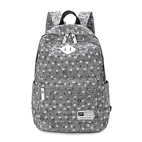 Yimidear Casual Style Cool Spotted Laptop Back Pack School Bag Travel  Sports Outdoor Rucksack (Black 8aacc49542d97
