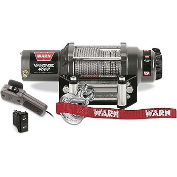 amazon com warn 89040 vantage 4000 winch 4000 lb capacity rh amazon com Warn Winch Parts Old Warn Winch Model 8000