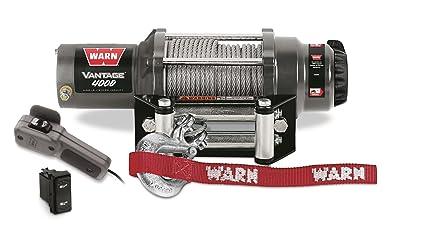 amazon com warn 89040 vantage 4000 winch 4000 lb capacity rh amazon com Warn 8000 Winch Wiring Diagram 8274 Warn Winch Wiring Diagram