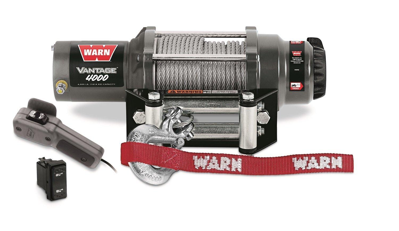 Warn 89040 Vantage 4000 Winch - 4000 lb. Capacity