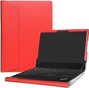 "Alapmk Protective Case Cover For 15.6"" Lenovo ThinkPad E590 E595 E580 E585 Series Laptop(Warning:Not fit thinkpad E570 E575 E560 E560p),Red"