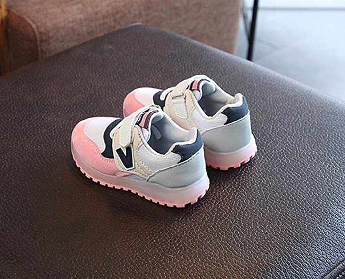 Toddler Kids Sport Running Baby Shoes Boys Girls Letter Mesh Sneakers 1-6Y Cool