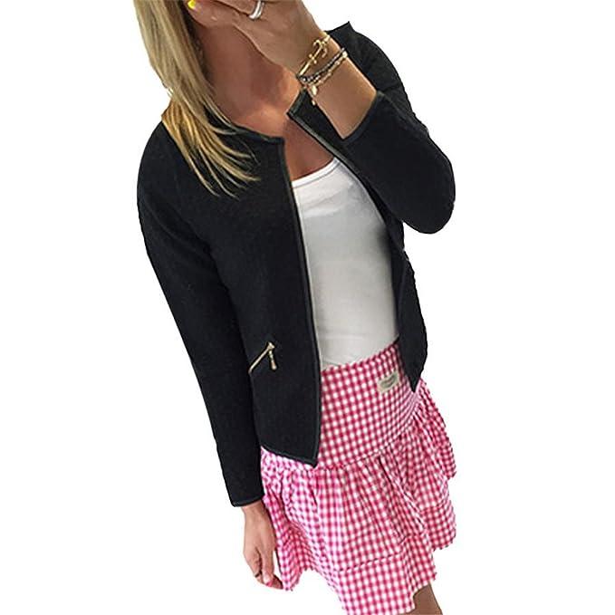 Micca Bacain Fashion Women Warm Cotton-padded Long Sleeve Lattice Tartan Cardigan Top Coat Jacket