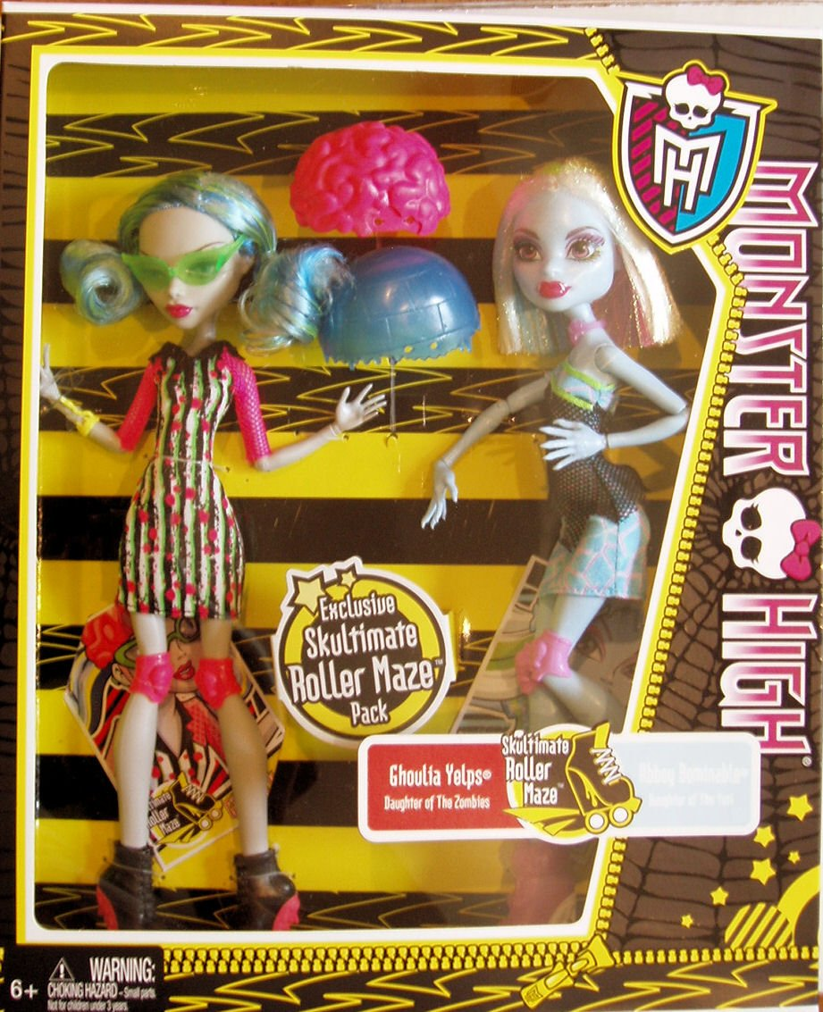 Amazon.com: Monster High Skultimate Roller Maze Abbey Bominable ...