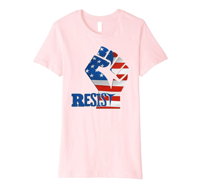 #Resist Fist Anti Trump boycott Impeach Trump T-Shirt