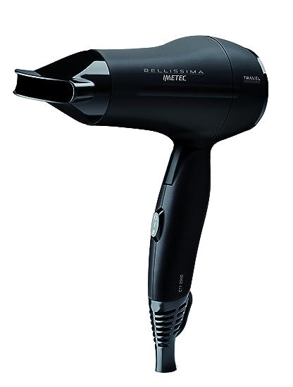 Imetec 11313 - Secador de pelo (1400 W, ideal para viajes, doble voltaje