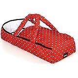 Brio 24891592–borsa per il trasporto di bambole, rosso/bianco
