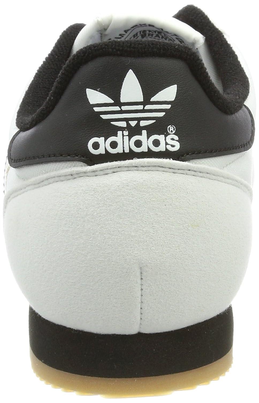 buy online cbfe4 c9ed3 adidas Dragon Og, Sneaker a Collo Basso Uomo, Bianco (Ftwr WhiteCore BlackGum  2), 39 13 EU Amazon.it Scarpe e borse