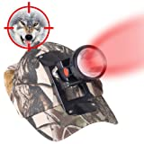Kohree 3W LED Red Light Cap Hunting Headlight for