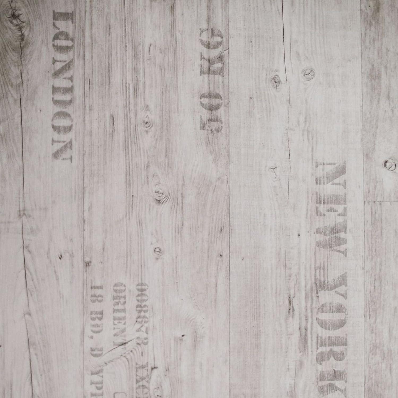PVC Bodenbelag Rustikal Hell mit Aufdruck 11,90 /€ p. m/² Breite: 200 cm x L/änge: 250 cm