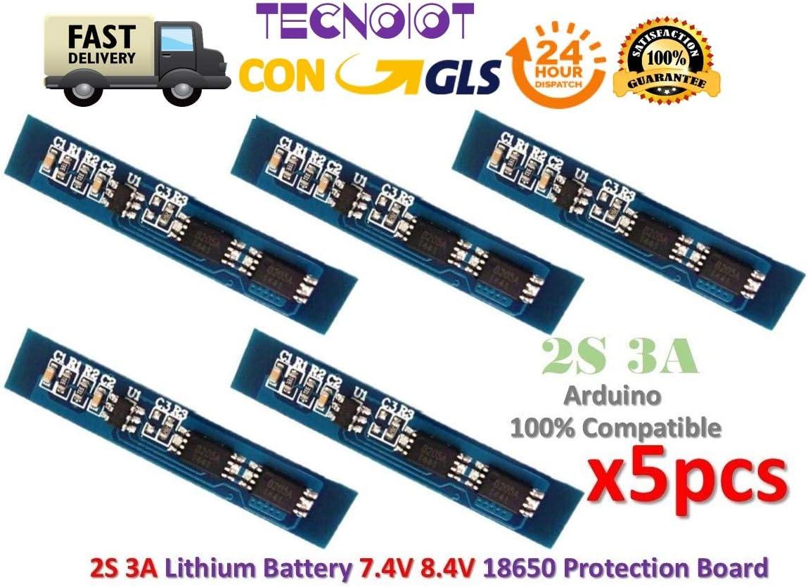 3 Stücke Batterie 18650 Ladegerät Schutz Board Modul 3A 7,4 V 8,4 V 2 S Li-Io pc