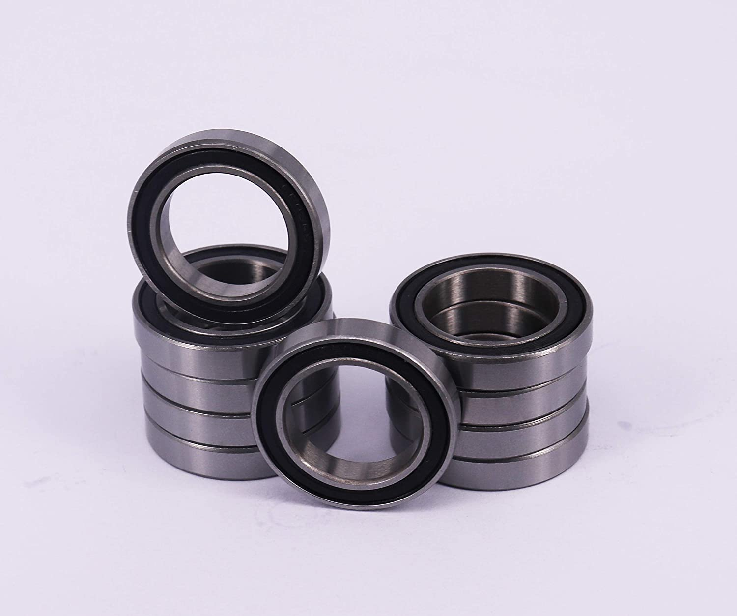 17x26x5 mm 10x 6803 2RS Rubber Sealed Deep Groove Ball Bearings