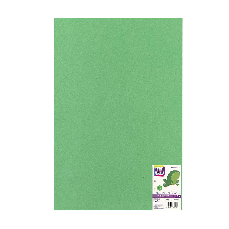 10-Pack 1184-51 Darice Bulk Buy DIY Foamies Foam Sheet Black 3mm Thick 12 x 18 inches