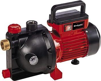 Einhell Bomba de jardín GC-GP 8042 ECO (800 W, capacidad máx. de entrega 4200 L/h, mango plegable, boca de llenado de agua de gran tamaño, interruptor de encendido y apagado, protección térmica):