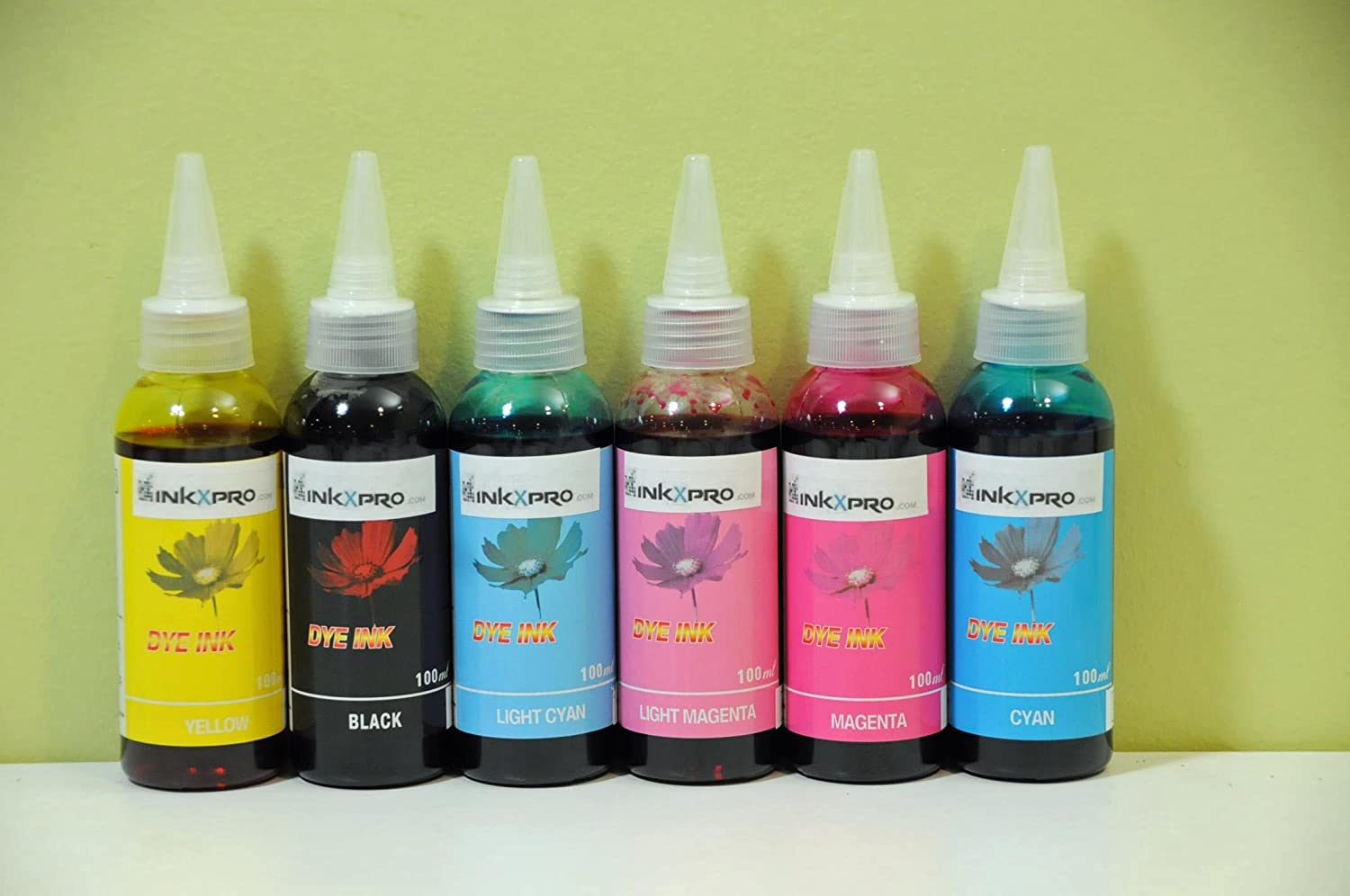Amazon.com: inkxpro 600 ml Dye Ink Refill Set de alta ...