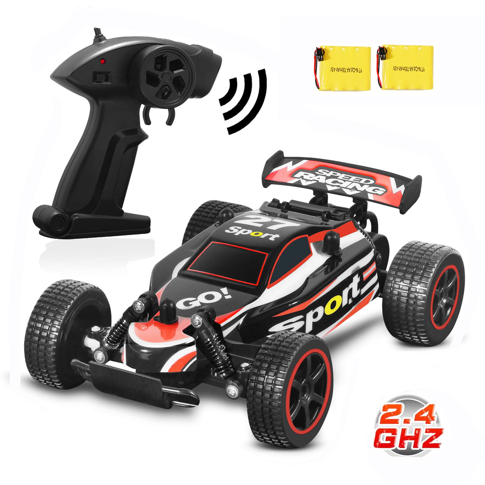 Blexy RC Racing Cars 2.4Ghz RC Cars High Speed Vehicle 1:20 2WD