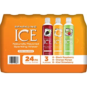 Sparkling ICE Sparkling Water, Variety Pack (17 oz., 24 pk.) (pack of 6)