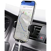 AUKEY Car Phone Mount Air Vent Cell Phone Holder for Car Compatible with iPhone Xs/XS Max / 8/7 / 6, Google Pixel 3 XL, Samsung Galaxy S9+, and Other Phones, Black