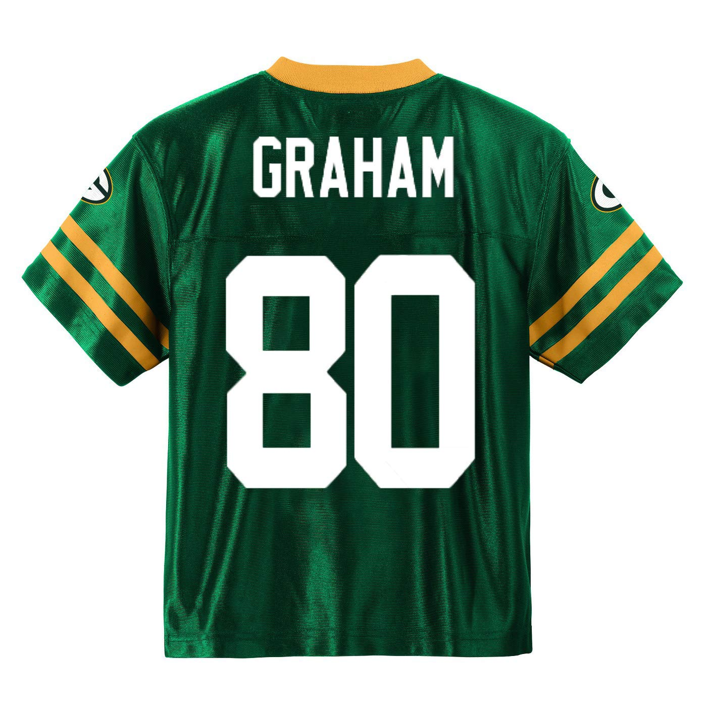 Outerstuff Jimmy Graham Green Bay Packers #80 Green Youth Home Player Jersey