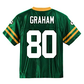 huge discount e5f34 85aa6 Outerstuff Jimmy Graham Green Bay Packers #80 Green Youth Home Player Jersey