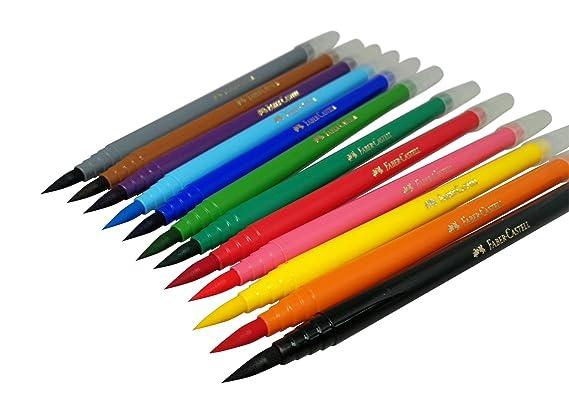 Faber castell calligraphy brush pen lettering set for beginner 12