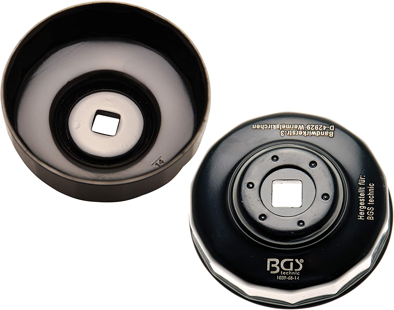 Cl/é /à filtres cloches douze pans /Ø 76 mm Mercedes-Benz Renault BGS 1039-76-12 pour Fiat