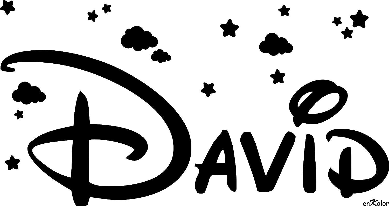Enkolor/Vinilos Nombres Personalizados/Infantil/Estrellas y Nubes/Colores/Tamaños: Amazon.es: Hogar