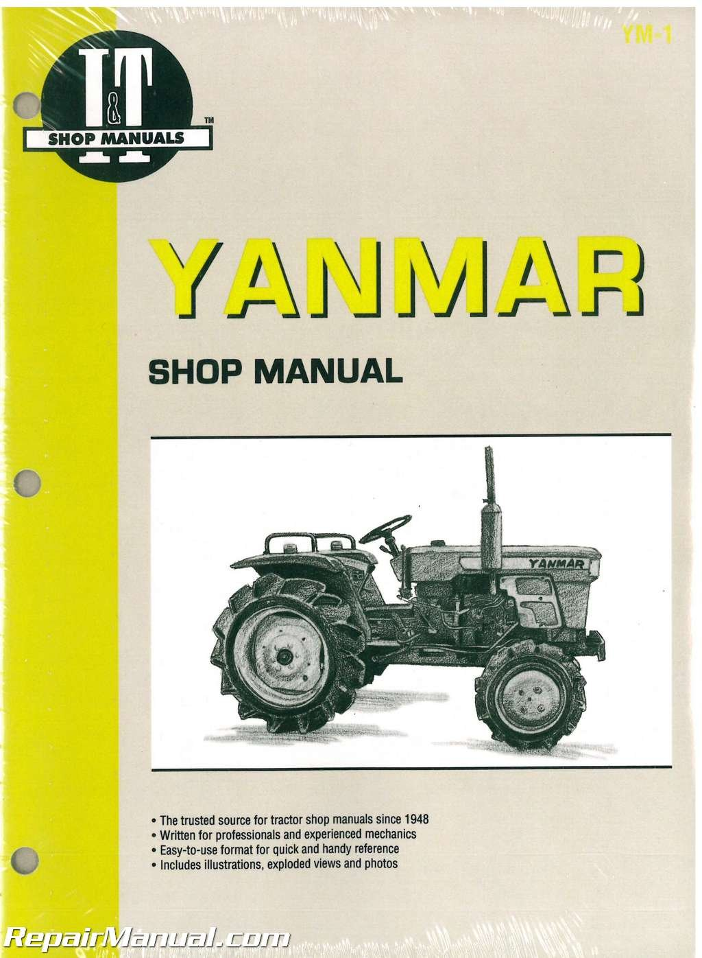 YM-1 Yanmar YM135 YM135D YM155 YM155D YM195 YM195D YM240 YM240D YM330  YM330D Tractor Manual: Manufacturer: Amazon.com: Books