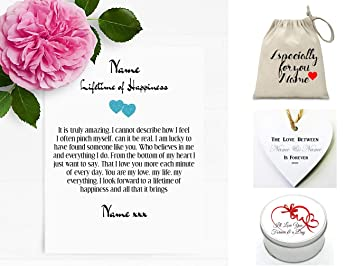 Pure essence greetings personalised love letter romantic poem pure essence greetings personalised love letter romantic poem lifetime of happiness husband wife m4hsunfo