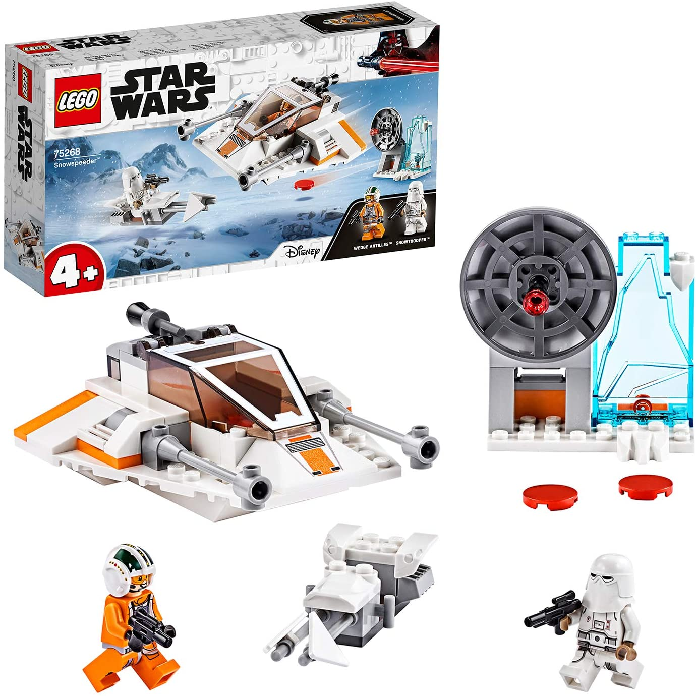 Star Wars, Snowspeeder et speeder bike de LEGO
