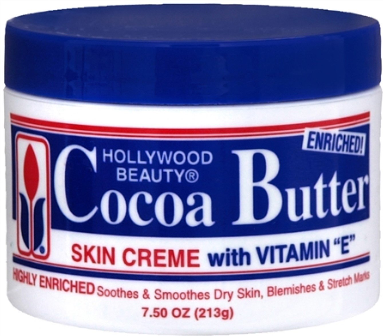 Hollywood Beauty Cocoa Butter Skin Creme 7.50 oz (Pack of 5)