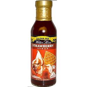 Walden Farms Strawberry Syrup, 12 oz