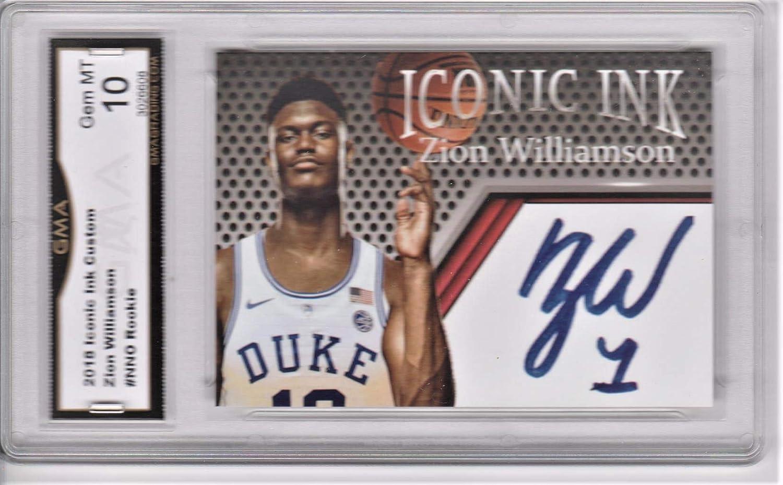 Duke Phenom 8 X 10 Basketball Photo Autograph Topps Zion Williamson