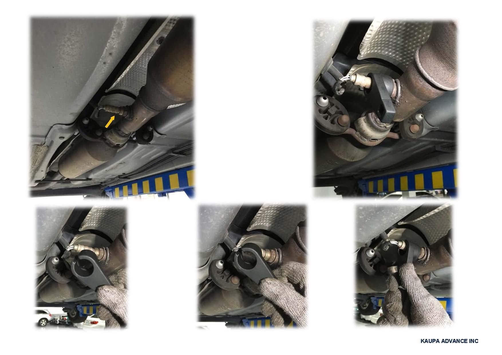 Kauplus 7PCS Master Sensor Socket Kit O2 Oxygen Sensor Wrench Socket Set by Kauplus (Image #3)