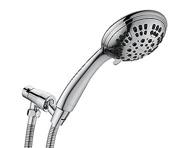 G Promise High Pressure Shower Head 6 Spray Setting Hand Held Shower