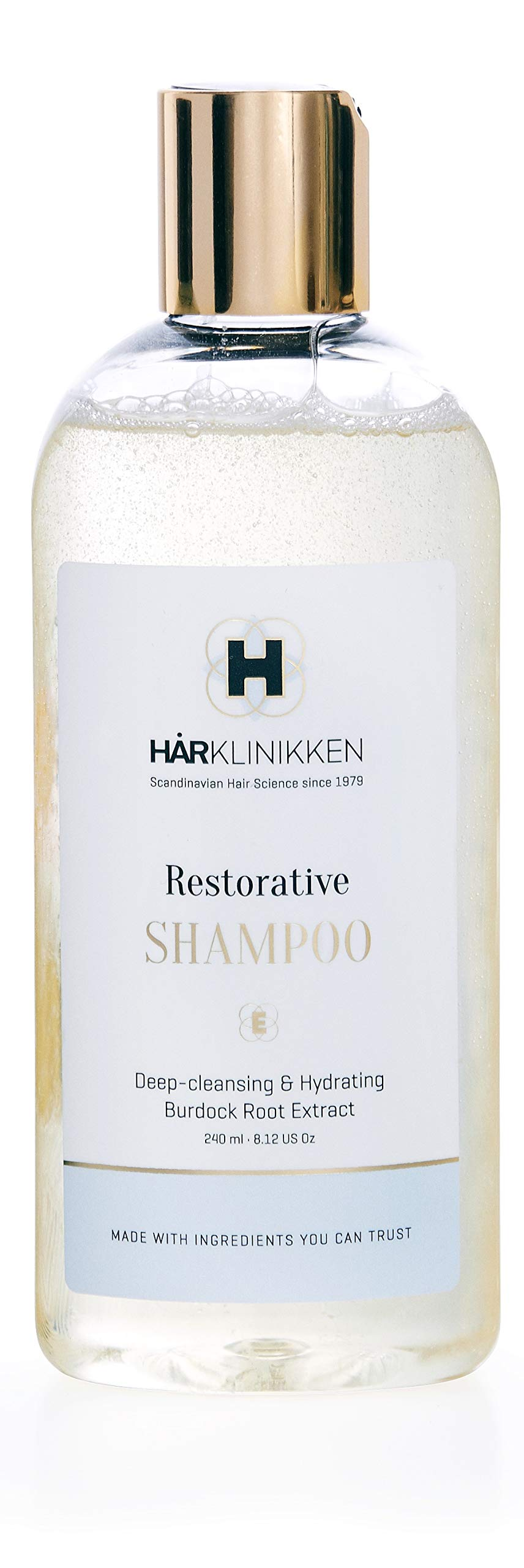 Harklinikken Advanced Cleansing & Treatment Set | 8.45 Oz. Balancing Shampoo & 8.45 Oz Restorative Shampoo | When washing daily: Alternate Product - For All Hair Types - Natural & Plant-Based by Harklinikken (Image #3)