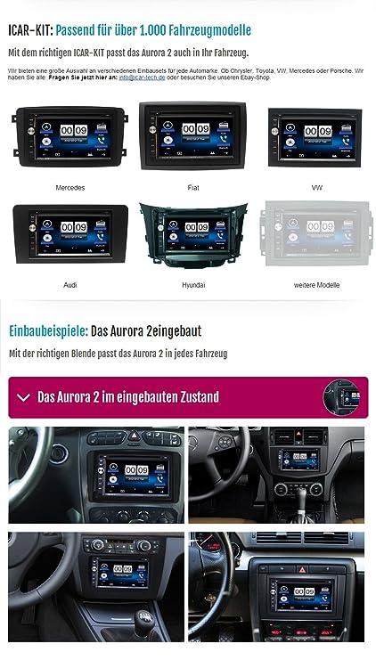 7 de alta velocidad-GPS-coche de iCar Tech + iGo Primo Navegador para caravanas y camión + caravana sinfrenos-marcha atrás - El paquete para principiantes ...