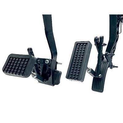 Able Motion Mobility PX2.0 Black Pedal Enhancement Extenders: Automotive