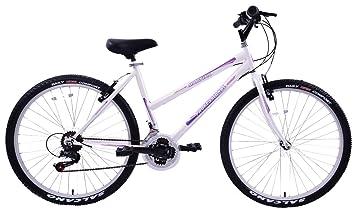 Professional Martina Ladies Mountain Bike White 26 Wheel 18