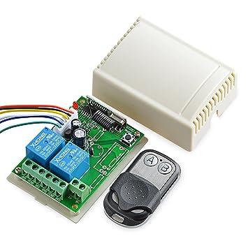 Relays Remote Control 4 Channel Auto Roll Rf Relay Board