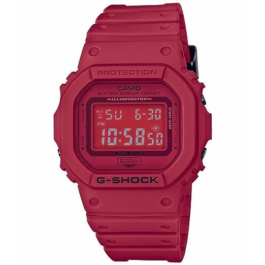 Casio G-Shock 35 Aniversario rojo Out dw5635 C-4 Digital reloj: Amazon.es: Relojes