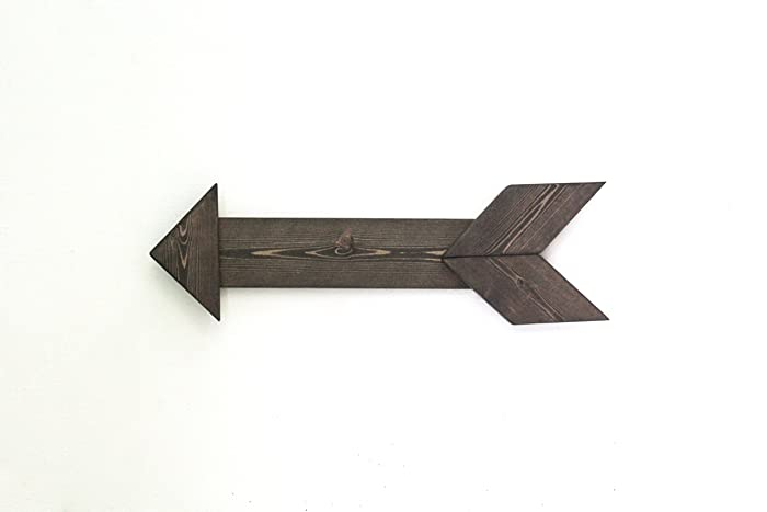 Very Amazon.com: Rustic Wooden Arrow Wall Decor: Handmade VE13